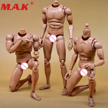 1:6 scale nude body action figure male man narrow shoulder muscular body model accessory for 12