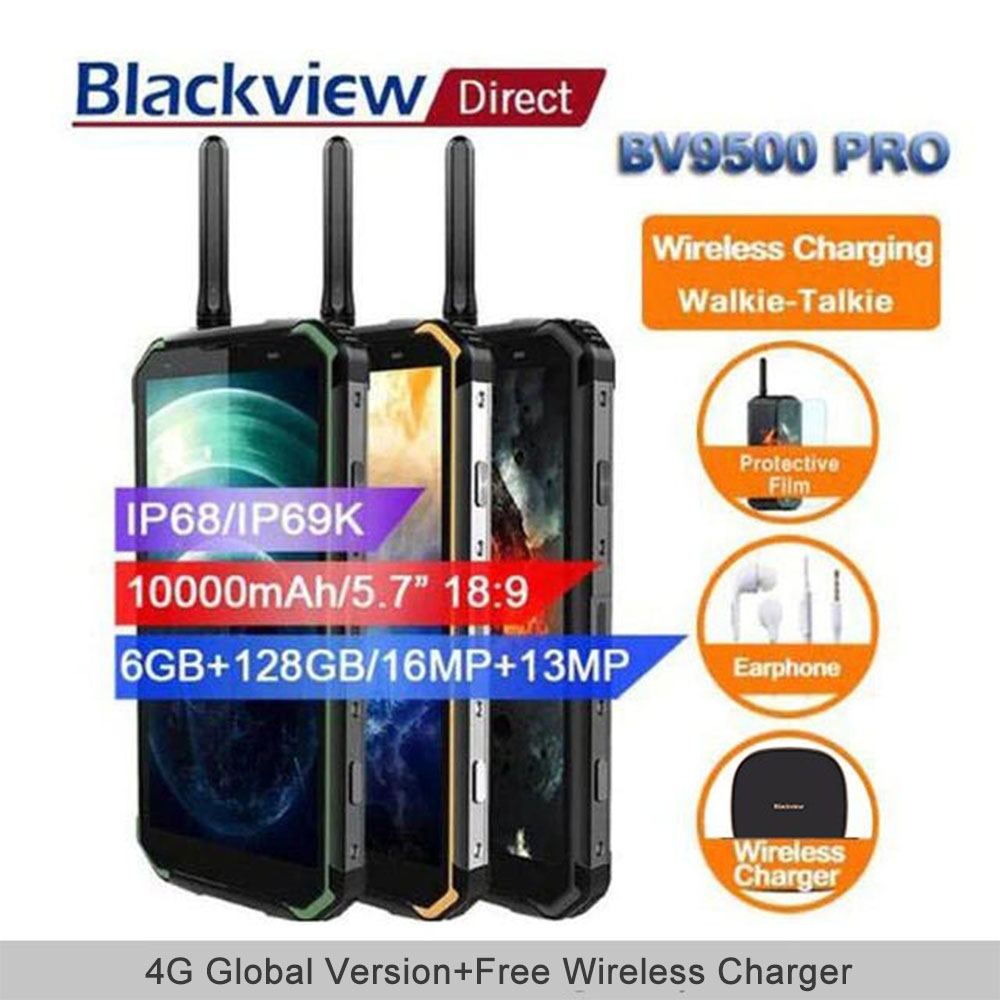 Blackview BV9500 pro 10000 mah IP68 Impermeabile Smartphone android 8.1 5.7