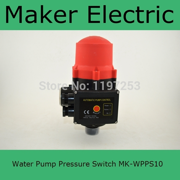 все цены на Hot sale cheap price  MK-WPPS10 adjusting water pump pressure switch from china factory