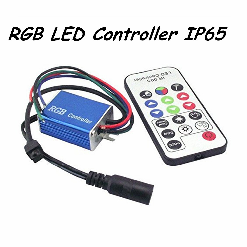 buy rgb led ir remote controller 288w max. Black Bedroom Furniture Sets. Home Design Ideas