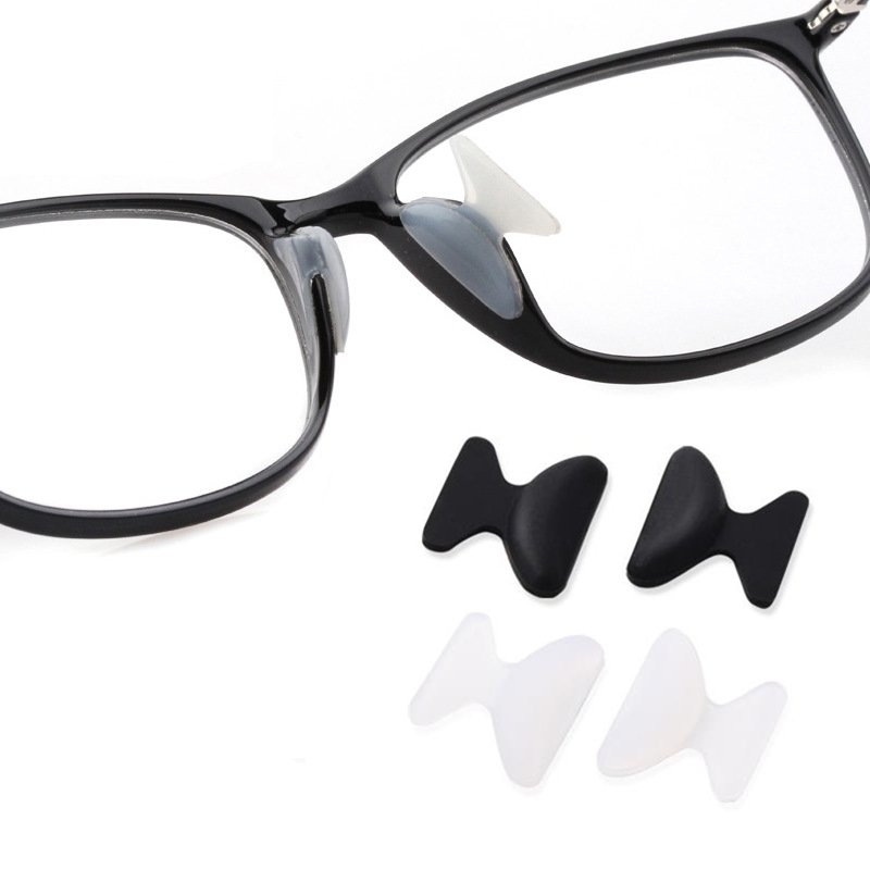 5 Pairs Anti Slip Silicone Nose Pad Non-slip Glasses Nose Lift Increase Pad For Glasses Eyeglasses Sunglass Eyewear Accessories