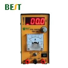 цена на BEST 1502s Adjustable Maintenance DC Regulated Power Supply LED Digital Display Meter Current Indicator