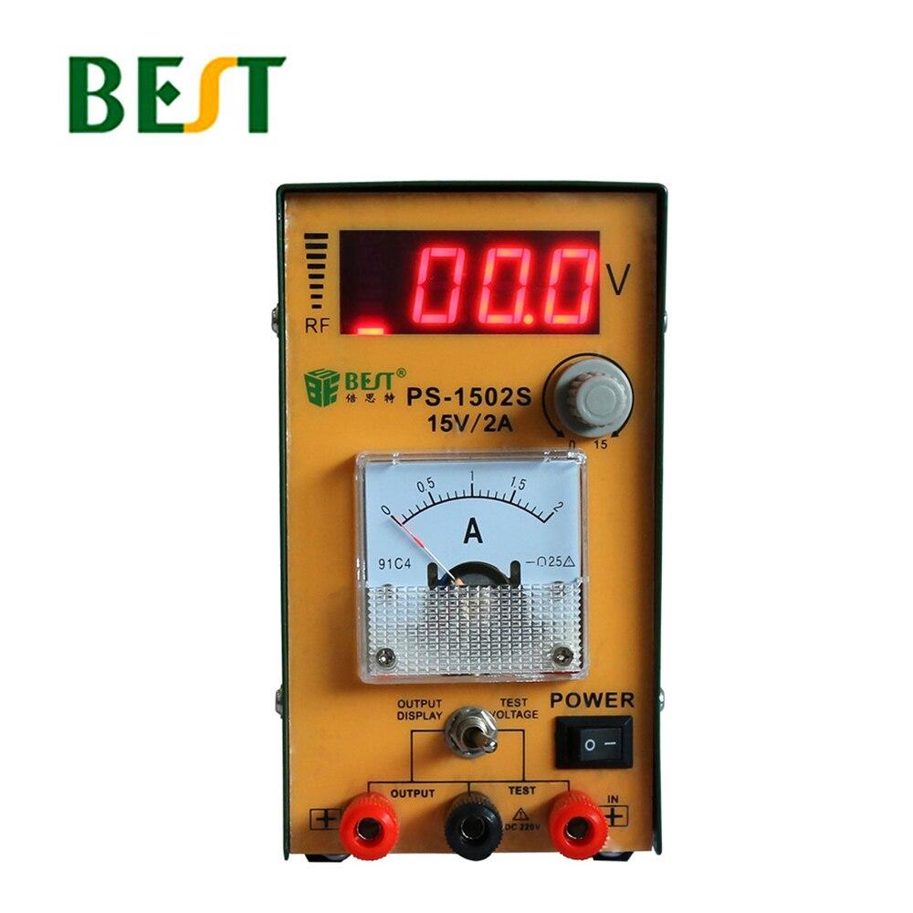 Meilleur 1502 s réglable entretien DC réglementé LED d'alimentation affichage numérique compteur indicateur de courant