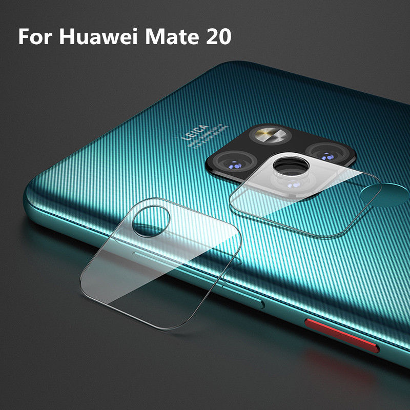 Akcoo 2 Pieces Camera Len Film for Huawei Mate 20 screen protector easy instal lens protector for huawei mate 20 pro lite X film 6