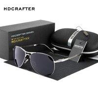 HDCRAFTER Polarized Sunglasses Men Brand Designer Sun Glasses Driving Glasses Mirror Goggle Eyewear Gafas De Sol