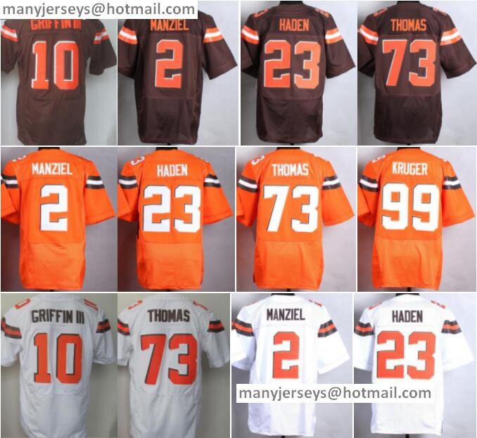 65ab04a3813 ... Fashion NFL Jerseys Best Sale 10 Robert Griffin Jersey III 2 Johnny .  Cleveland Browns Johnny Manziel 2 Nike Elite Brown Fanatical Version Mens  ...