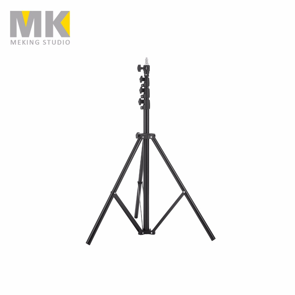Meking  280cm/9'3 MK2.8  Photography Light stand Air Cushion heavy Duty L-2800FP light stand mz 2400fp 7 8 feet 240cm heavy duty cushioned premium black light stand for video portrait and product photography no00dc