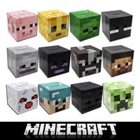 Free Shipping Minecraft Game Cardboard Enderman Creeper Steve Mask Baby Party Gift Cosplay Cardboard Steve Heads
