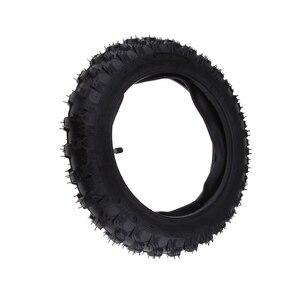 Image 4 - 2.50 × 10 オートバイゴムスクータータイヤ & インナーヤマハ PW50 ホンダ CRF50 XR50 2.50 10 タイヤなど溝容易ではない穿刺