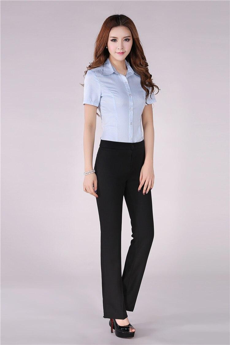 Formal Dress Slacks And Blouse - Breeze Clothing