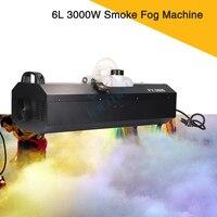 2Pcs New Design 6L Great Effect Dmx512 Remote Control Stage Effect Machine 3000W Smoke Fog Machine
