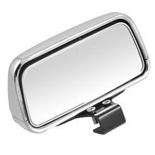 Vehical Silver black Adjustable Angle Car Blind Spot Mirror