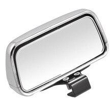 Vehical Silver&black Adjustable Angle Car Blind Spot Mirror