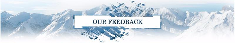 our feedback