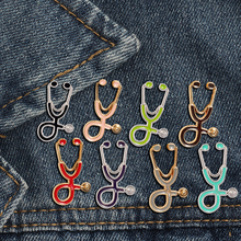 US $0.45 48% OFF|Creative 18 styles Colorful Brooches Doctor Nurse Stethoscope enamel Pins Medical Denim Jackets bag Jewelry Button Badges Gifts -in Brooches from Jewelry & Accessories on Aliexpress.com | Alibaba Group