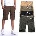 Homem plus size shorts men: MAX cintura 117 CM 30-40 42 44 46 L-XXXL 4XL 5XL 6XL verão 2014 macacões macho soltas calças dos homens