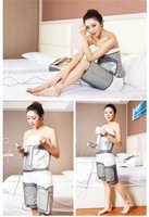 Massage Electric far infrared heating warm pad waist belly and body care mat Abdominal Massage belt