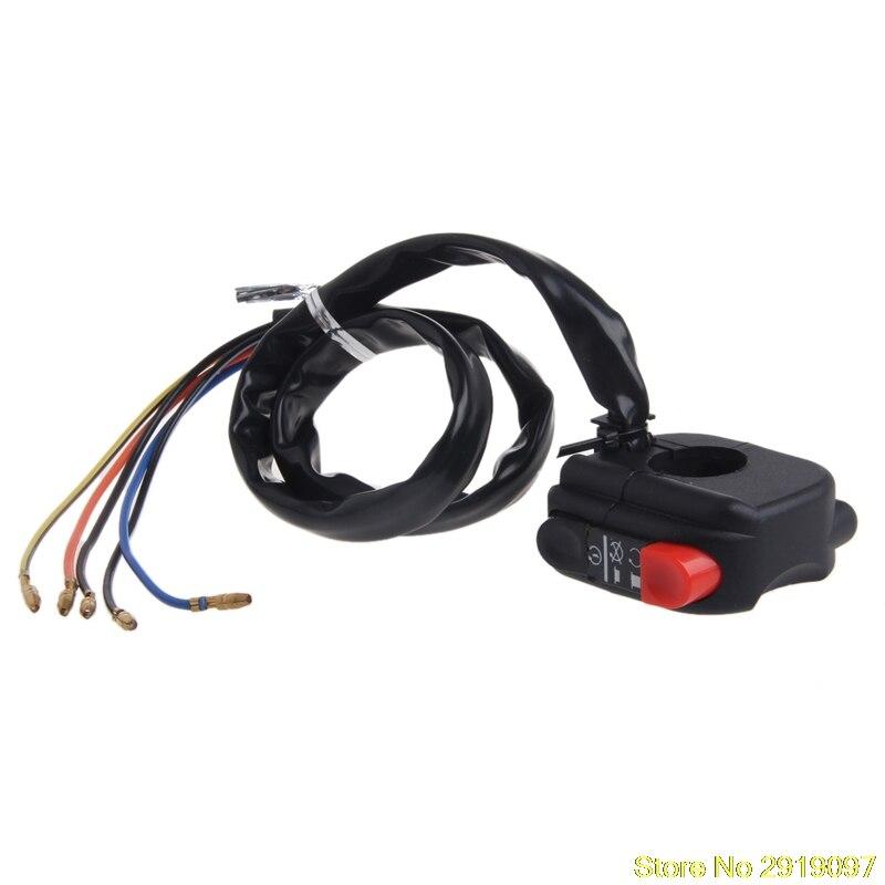 New Arrive 22mm Motorcycle Handlebar Power Horn Headlight Switch For font b BMW b font font