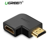 Ugreen HDMI Male to HDMI Female Cable Adapter Converter Extender 90 Degrees Angle 270 Degrees Angle for 1080P HDTV HDMI Adapter