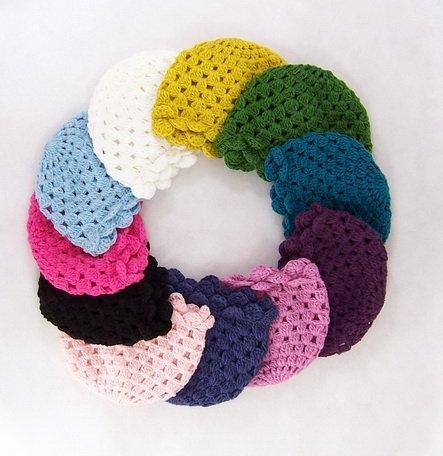 10pcs Crochet Beanie Baby Handmade Hat Crochet lace kufi hat Toddler Hat