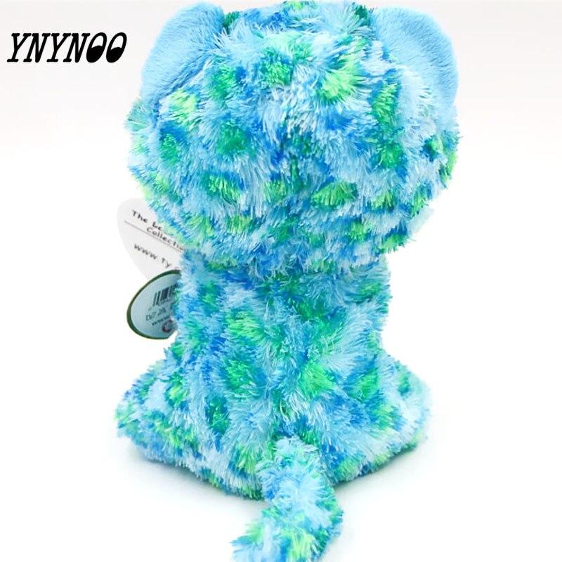 (Ynynoo) оригинальный ty Шапочка Боос большие Средства ухода для век плюшевые игрушки куклы Красочные зеленый Леопард Подарок для маленьких дет...