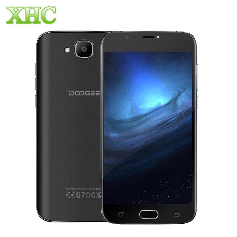 Doogee X9 mini WCDMA 3G smartphones 8 GB Rom 1 GB RAM 5.0 ''1280x720 Android 6.0 quad Core fingerprint GPS dual sim teléfono móvil