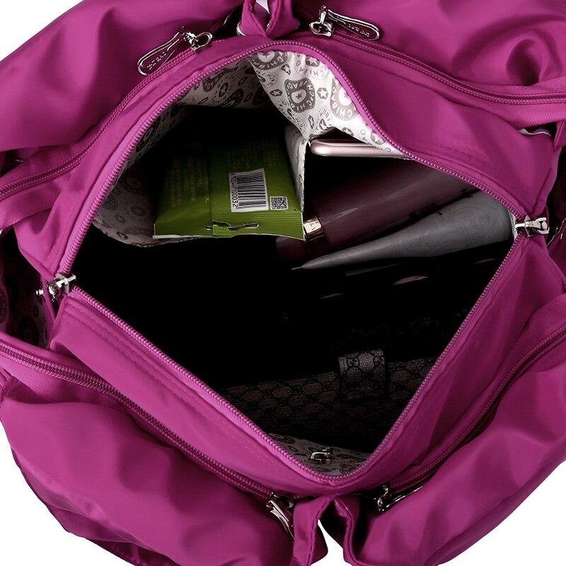 Top-handle Bag Handbags Women Famous Brand Big Nylon Shoulder Beach Bag Casual Tote Female Purse Sac Femme Bolsa Feminia