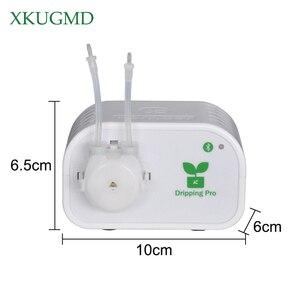 Image 2 - Sterowanie przez telefon komórkowy inteligentny ogród automatyczne nawadnianie urządzenie kwiatowe sukulenty narzędzie do nawadniania kropelkowego System timera pompy wody
