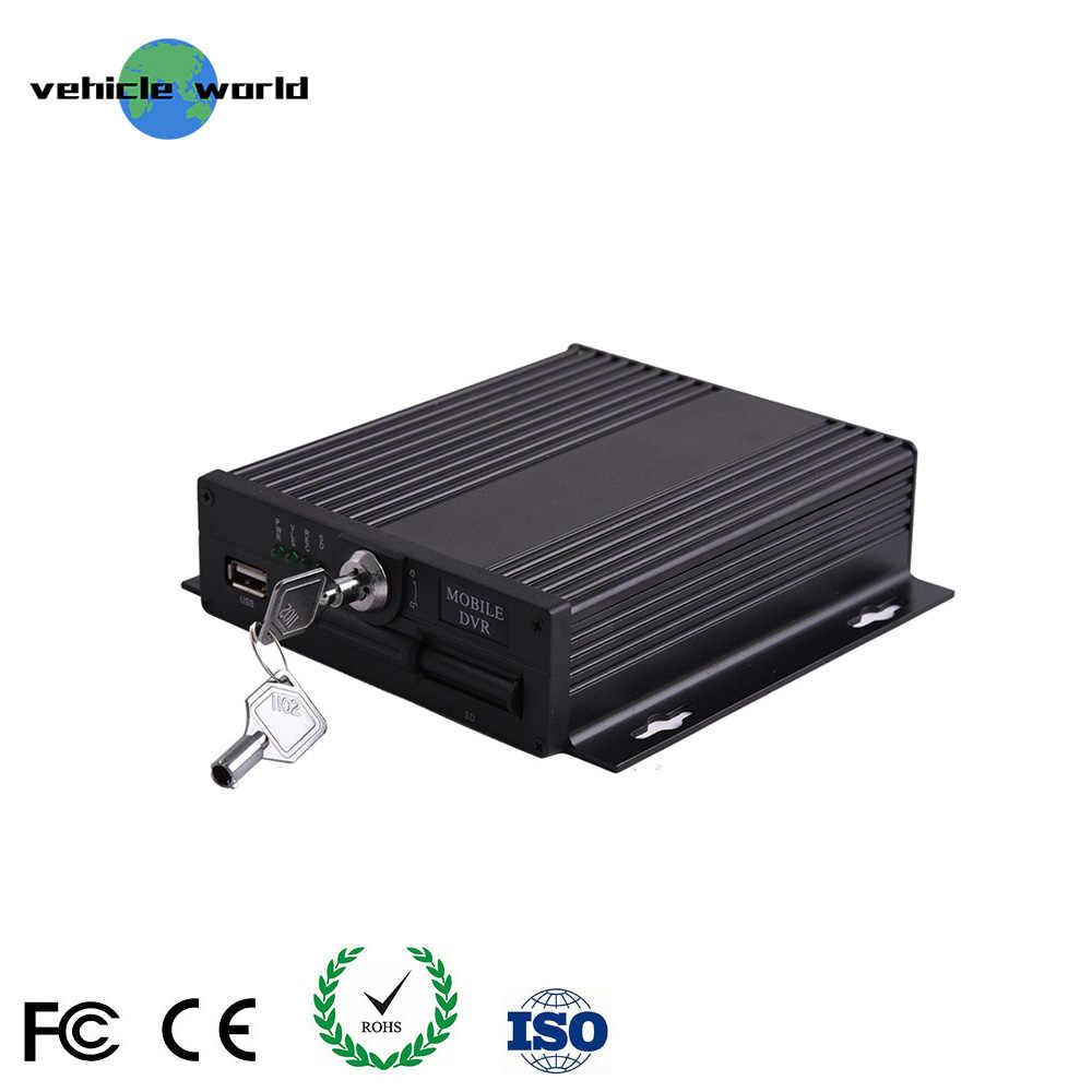 Mobil Perekam Video 1080 P 256 GB Kartu SD 2ch/4ch DVR Mobile