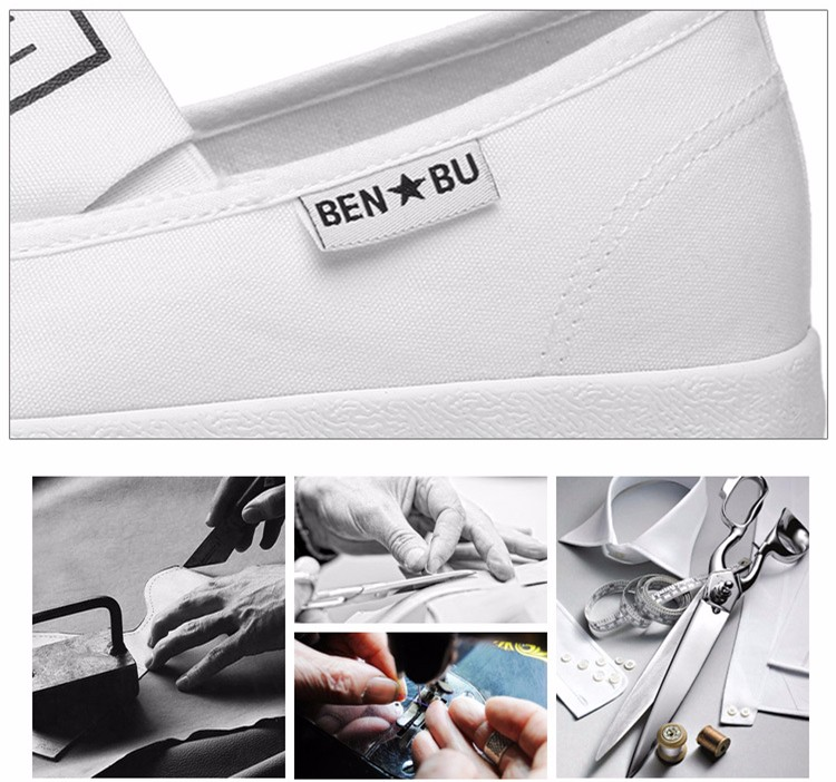 KUYUPP Brand New Woman White Shoes 2016 Summer Casual Flat Slip On Canvas Shoes Round Toe Women\'s Flats Big Size 35-40 PX107 (9)
