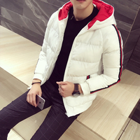 Winter Men S Hooded Jackets Fashion Business Casual Thick Men Long Sleeves Coats Hot Sales Slim