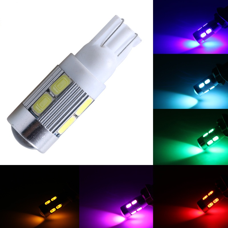 1PCS Super Bright T10 194 192 92110 SMD 5630 5730 LED s Auto Wedge Tail Side Bulb W5W WY5W 501 Car Reading Lamp Bulb DC 12V shengyongbao 7x5ft brick wall theme vinyl custom photography backdrop photo studio backgrounds zq22