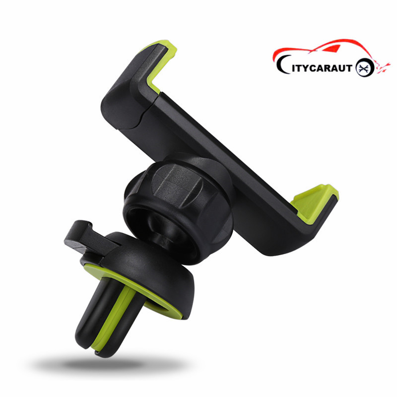 car phone holder mobile phone holder 540 degree rotation insert air vent mount air outlet blade car swivel air outlet mount holder for htc one s black