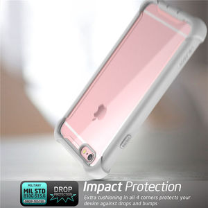 Image 4 - For iPhone 6 Plus/6s Plus Case 5.5 inch i Blason Ares Series Full Body Rugged Clear Bumper Case with Built in Screen Protector