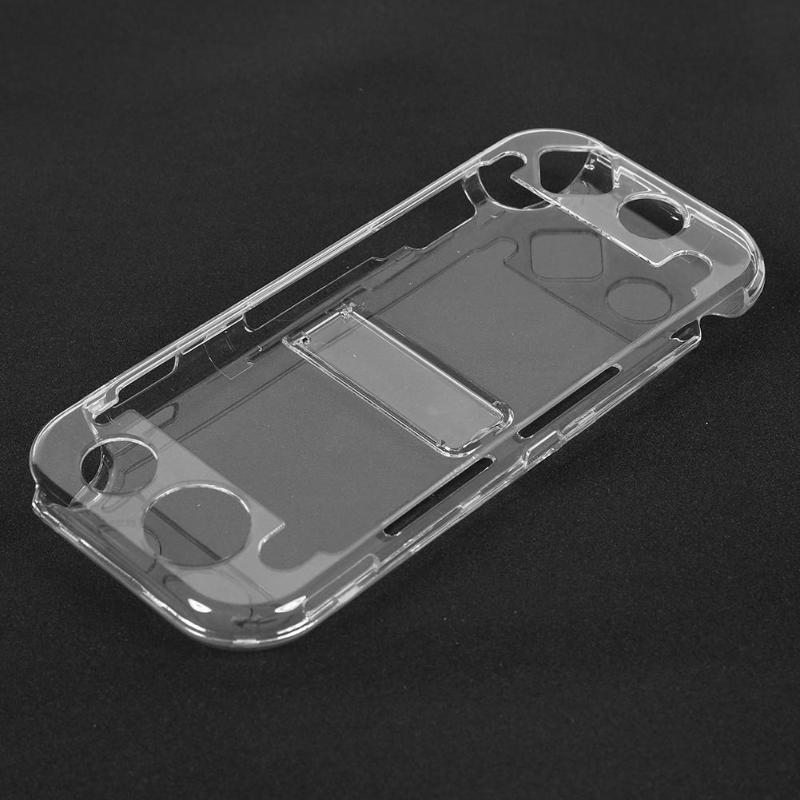 Crystal  Transparent Case Protecive Cover Environmentally Friendly PC Skin Fit For Nintend Switch Lite Bracket Function