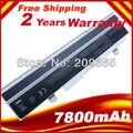 9 células 7800 mAh bateria do portátil para ASUS Eee PC 1215N 1215 P 1215B 1215PE A31-1015 A32-1015 AL31-1015 PL32-1015 branco