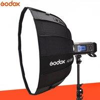 Godox 65 см AD S65S встроенный Серебряный софтбокс с сотовой сеткой Godox крепление софтбокс для AD400PRO flash