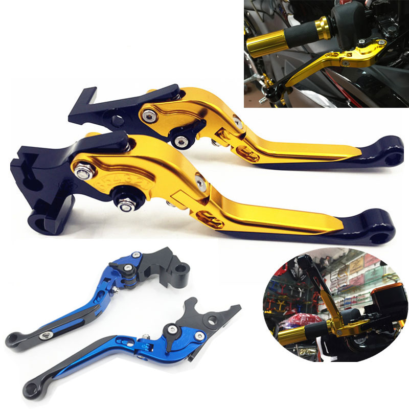 5COLOR New For Yamaha YZF R3 2015 2016 Motorcycle CNC Aluminum Folding Extendable Moto Brake Clutch Levers чемодан на колесах bruno perri сумки тележки на колесиках