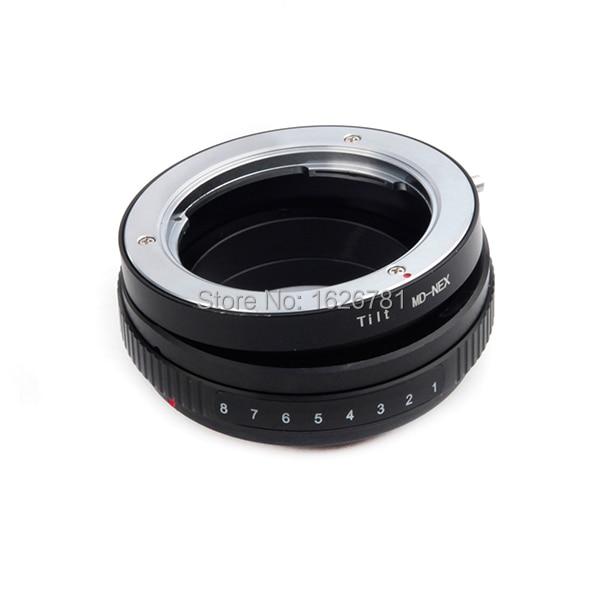 Tilt Lens Adapter Suit For Minolta MD-NEX to Sony E Mount NEX For A7s A5000 A3000 NEX-5R NEX-F3 NEX-EA50 FS700
