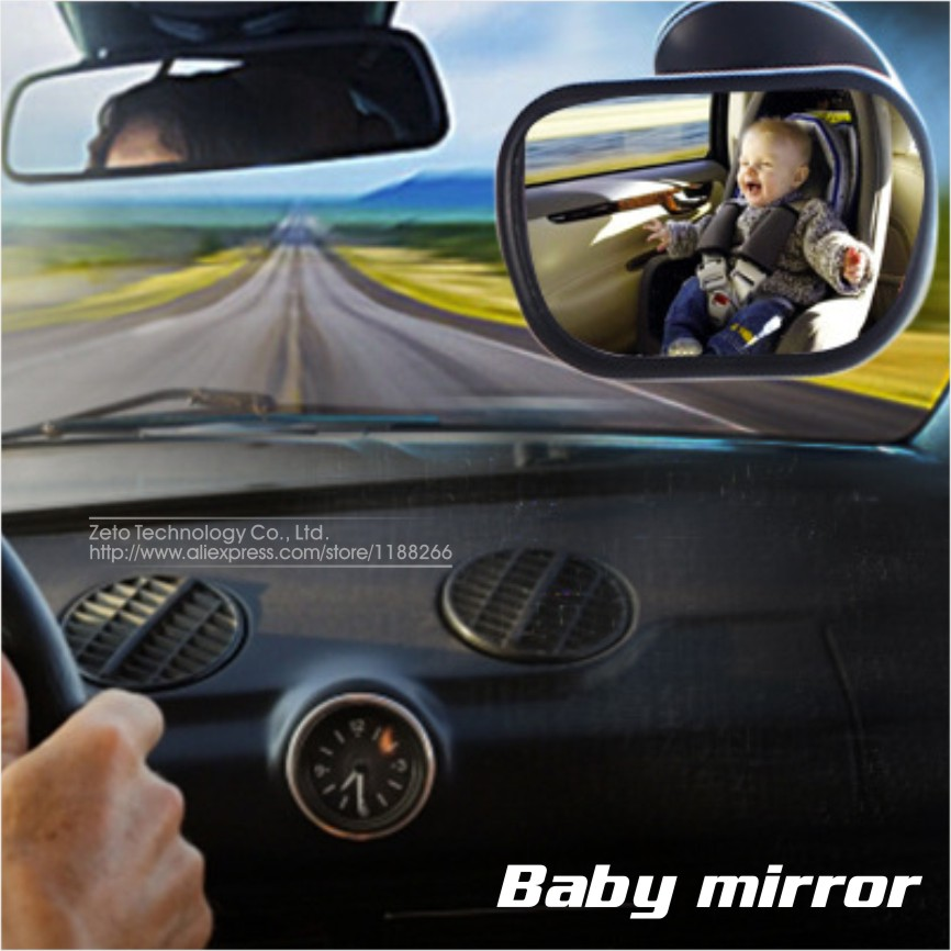2016 New Baby Safety Seat Baby Rearview Mirror Car Baby Child Kids Rear View Mirror Safety Reverse Safety Seats Mirror