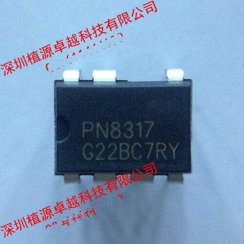Original Free Shipping 10pcs/lot Ac-dc Constant Current Led Driver P Pn8317 Dip-7 New Original Active Components