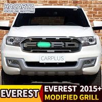 FIT FOR EVEREST ENDEAVOUR 2015+ CAR ACCESSORISE EXTERIOR GRILL PARTS GRILLE MODIFIED FRONT RACING GRILLS MESH BUMPER MASK COVER