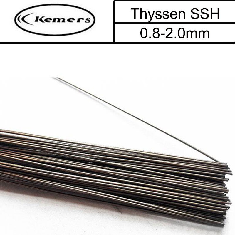 1KG/Pack Kemers Mould Welding Wire Thyssen SSH for Welders (0.8/1.0/1.2/2.0mm) T012006 professional welding wire feeder 24v wire feed assembly 0 8 1 0mm 03 04 detault wire feeder mig mag welding machine ssj 18