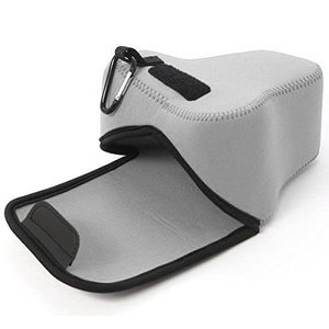 Image 5 - Portable Neoprene Camera bag Case Cover for Fujifilm X T3 X T2 XT3 XT2 with 18 55mm Lens Digital Camera ONLY