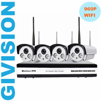 4CH 960P Wireless NVR IP Camera CCTV Security System 4PCS 1 3mp IR Outdoor Waterproof WIFI
