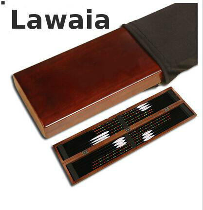 Lawaia Transparent Wooden Fishing Lure Bait Box Storage Organizer Container Case Fishing Tackle Boxes Fish Tackle Fishing Box portable 2 layers many compartments visible pvc fishing lure bait hooks fish tackle box accessory storage box case fishing tool