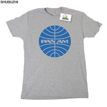 61d23285d2cd PAN AM Airlines Inspired by Catch Me If You Can Printed T-Shirt Cool Casual