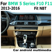 Car Android Touch Screen Multimedia Player Stereo Display navigation GPS For BMW 5 Series F10 F11 NBT 2013~2016 Audio Radio