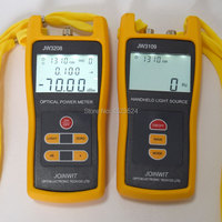 Multímetro de fibra Óptica SM & MM JW3208A Handheld Optical Power Meter-70 ~ + 6dBm + JW3109 fonte de Luz Óptica fonte 850/1300/1310/1550nm