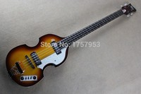 Darmowa Wysyłka Najwyższa Jakość Niższa Cena Hofner Skrzypce Ikona Serii Vintage Sunburst gitara Basowa Gitara Elektryczna 4 strings bass 1110